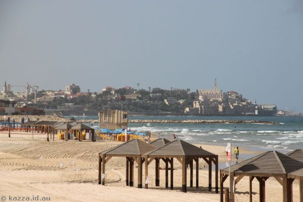 Looking towards Old Jaffa