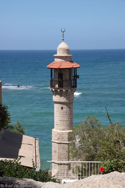 Minaret in Old Jaffa