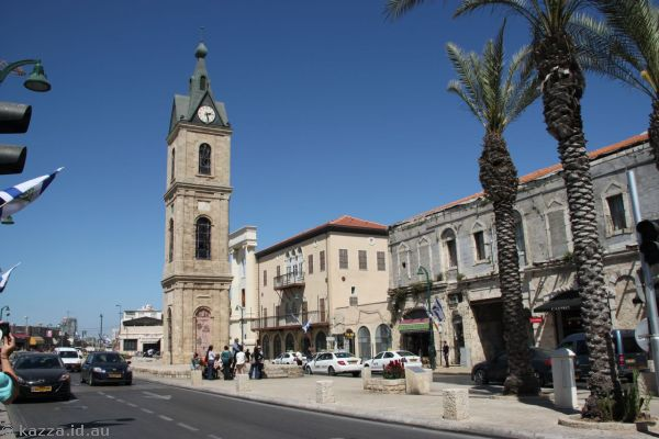 Clock tower in Old Jaffa
