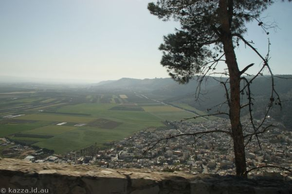 View off Mount Tabor