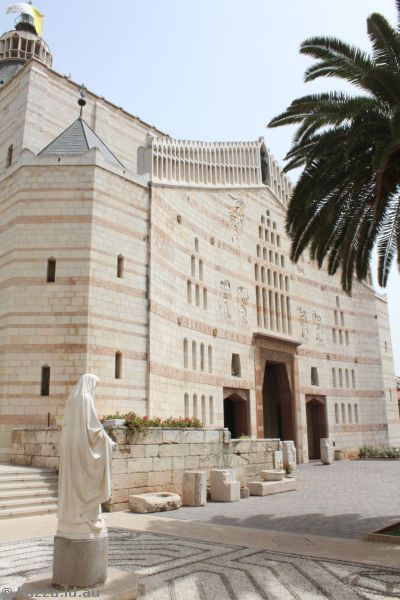 Basilica of The Annunciation<br>Photo by Dad