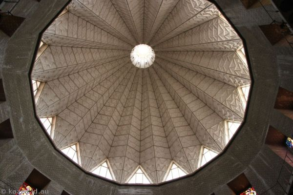Roof of the Basilica of The Annunciation