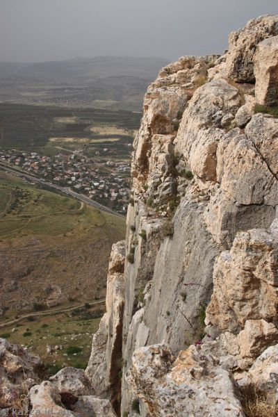 Cliffs of Mount Arbel