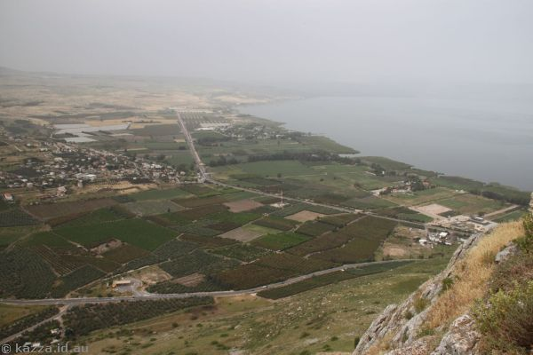 Ginosar from Mount Arbel