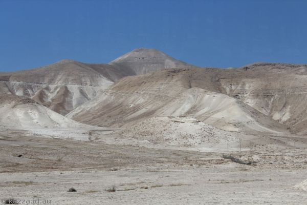 Arid hills in the Jordan valley<br>Photo by Dad
