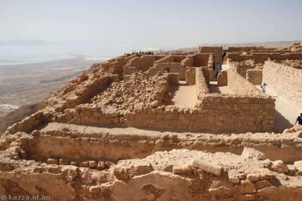 Store rooms in Masada