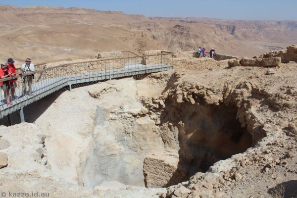 Masada<br>Photo by Dad