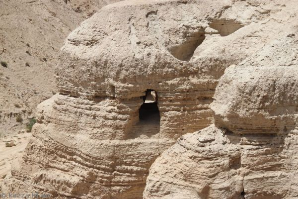 Cave where the Dead Sea Scrolls were found
