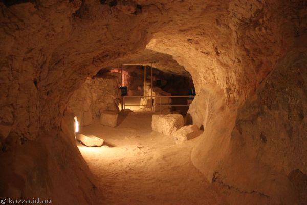 Tunnels in Herodium