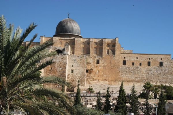 Al-Aqsa Mosque from The City of David