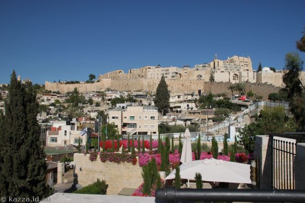 Old City from The City of David