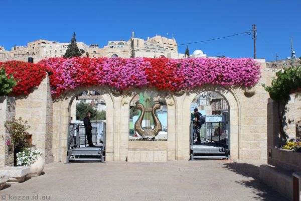 The City of David entrance<br>Photo by Dad