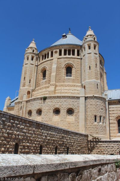 Dormition Abbey<br>Photo by Dad
