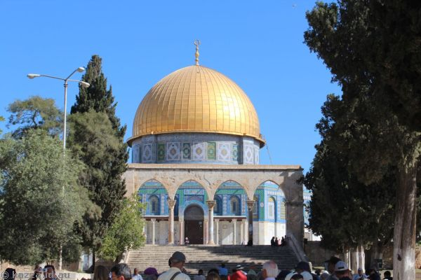 Dome of the Rock<br>Photo by Dad