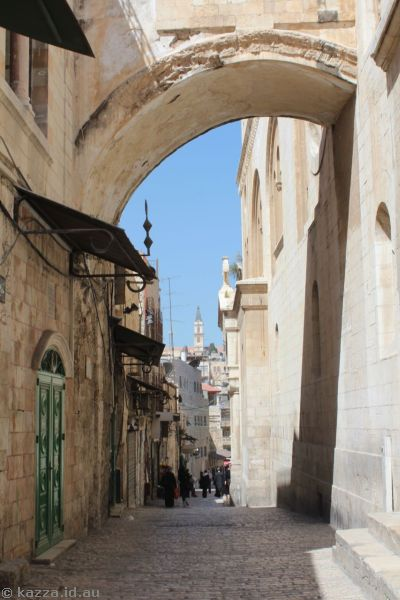 Streets of Jerusalem<br>Photo by Dad
