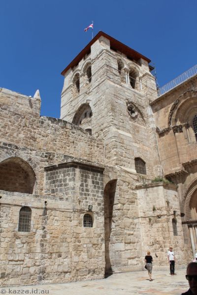 Church of the Holy Sepulchre<br>Photo by Dad