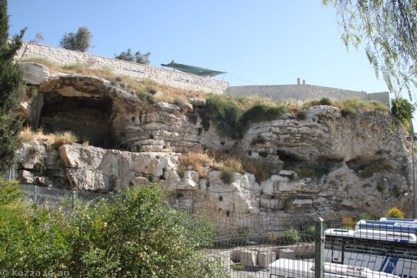 Possible location of Golgotha
