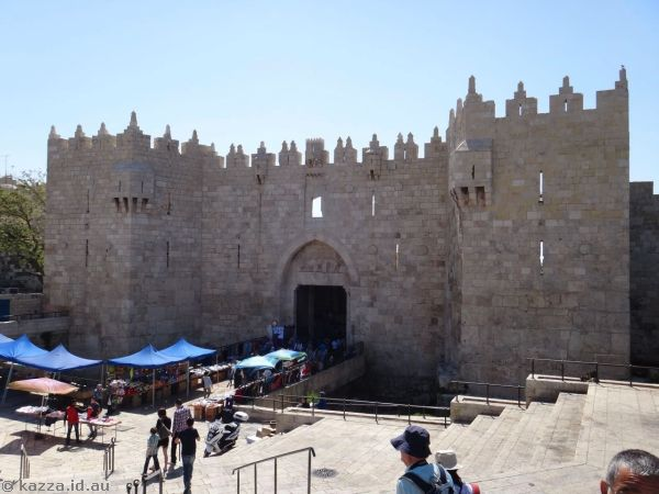 Damascus Gate - outside