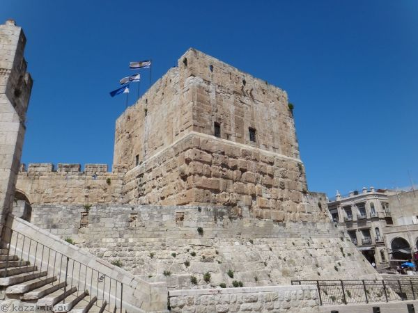 Phasael Tower - built as part of Herod's Palace