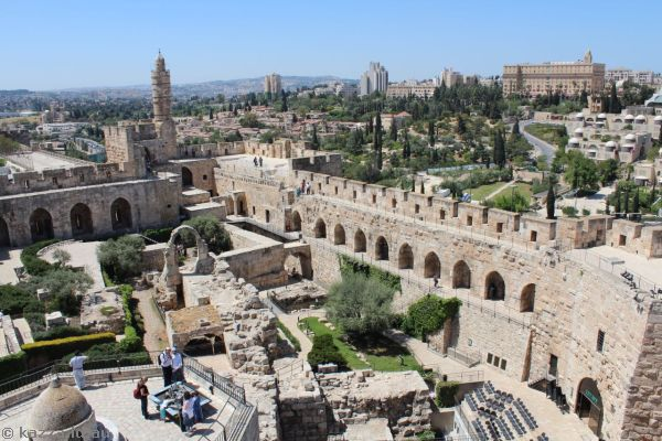 Tower of David citadel<br>Photo by Dad