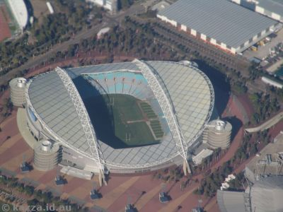 Stadium Australia (or whatever it's called these days) at Homebush