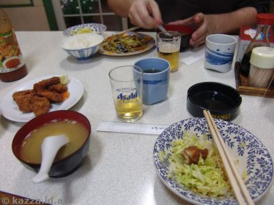 My first ever meal in Japan.  It was really good!