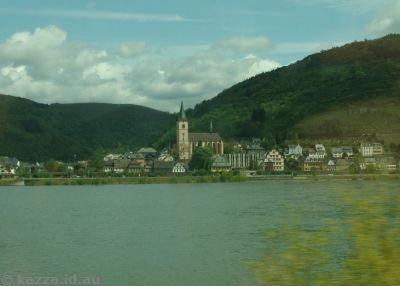 Rhine River town