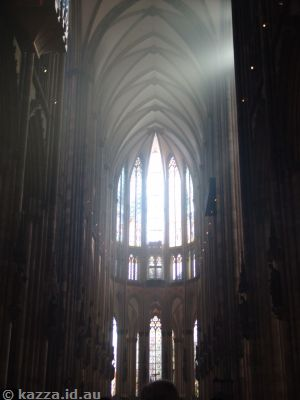 First look at the interior of the Cologne Cathedral