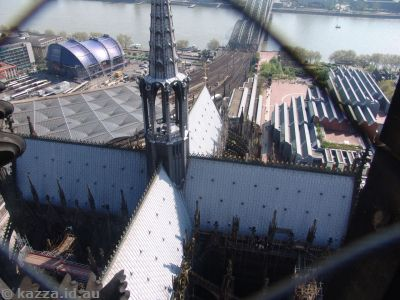 Cologne Cathedral from the south tower