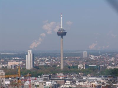 Fernsehturm Colonius - TV tower northwest of the cathedral
