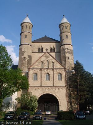 St. Pantaleon - one of the twelve Romanesque churches of Cologne