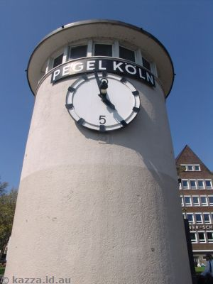 Pegel clock