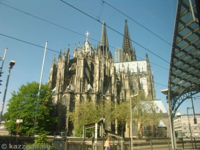 Leaving Cologne