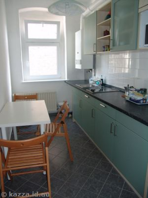 Kitchen in the flat in Berlin