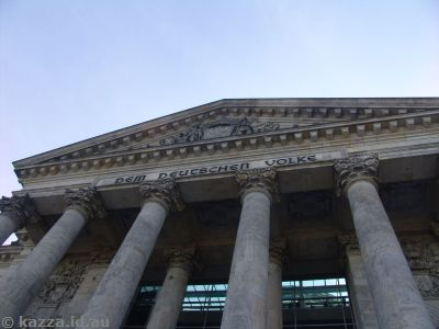 Entrance to the Reichstag