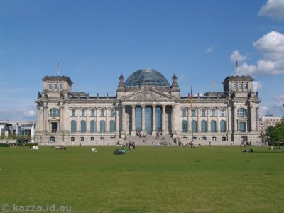 The Reichstag in the afternoon sun