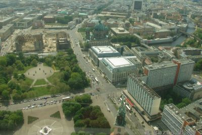 Mitte from the Fernsehturm