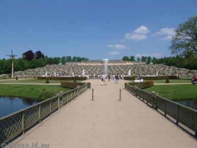Schloss Sanssouci and gardens