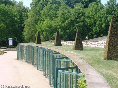 Terraces in front of Schloss Sanssouci