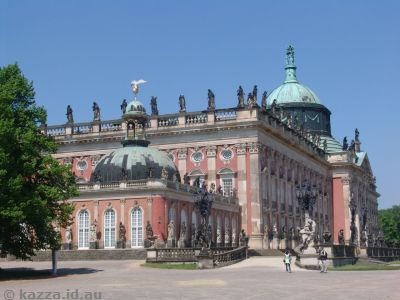 New Palace - east building