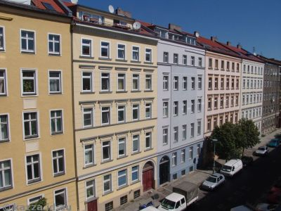 View from our apartment on Rheinsbergerstrasse