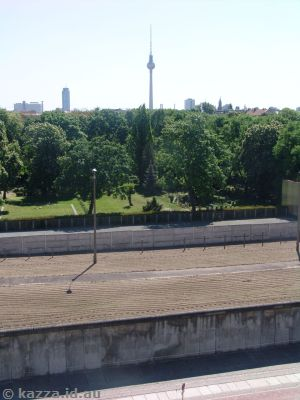 Remnant of the Berlin Wall at Bernauerstrasse
