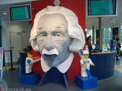 Einstein at Legoland Berlin