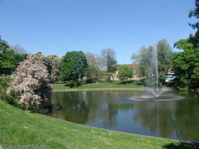 Fountain and Zwinger Gardens