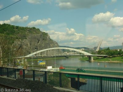 Bridges in Ústí nad Labem, Czech Republic