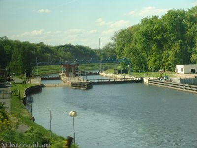 Locks near Lovosice