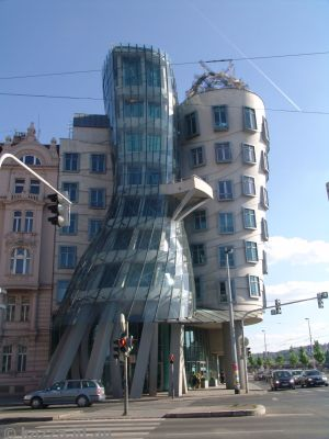Dancing House, nickname given to the Nationale-Nederlanden building in Prague