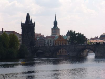 Charles Bridge and tower