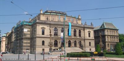 The Rudolfinum where we later saw a concert