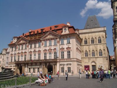 Goltz-Kinsky Palace in the Old Town Square